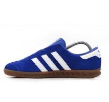 Кроссовки Adidas Originals Hamburg Deep Blue