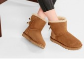UGG MINI BAILEY BOW II BOOT CHESTNUT - Фото 7