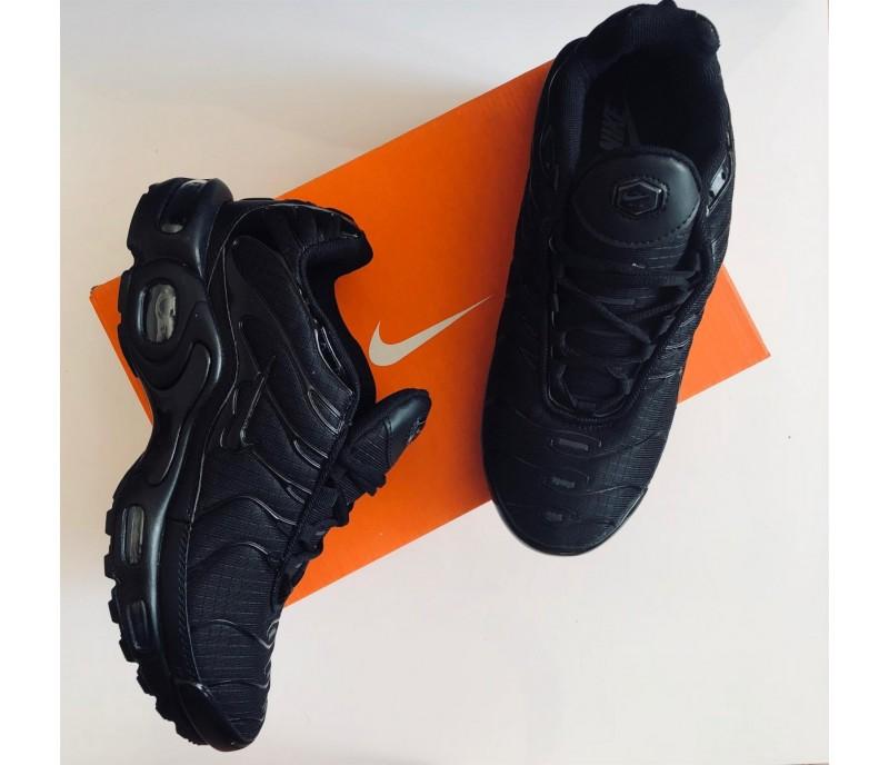 62c4705c Кроссовки Nike Air Max TN Plus II All Black купить в Киеве, выгодная ...