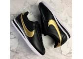 Кроссовки Nike Cortez Glitter Pack Black/Gold - Фото 7