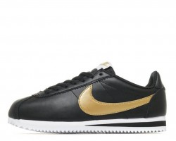 Кроссовки Nike Cortez Glitter Pack Black/Gold