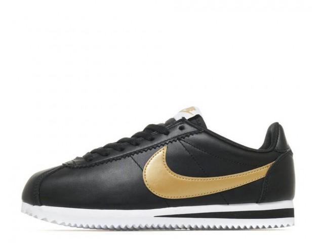 Кроссовки Nike Cortez Glitter Pack Black/Gold