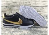 Кроссовки Nike Cortez Glitter Pack Black/Gold - Фото 4
