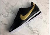 Кроссовки Nike Cortez Glitter Pack Black/Gold - Фото 5