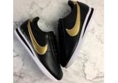 Кроссовки Nike Cortez Glitter Pack Black/Gold - Фото 6