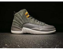 Баскетбольные кроссовки Air Jordan 12 Dark Grey