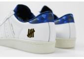 Кроссовки Adidas Consortium X UNDFTD X Bape Superstar 80V White - Фото 5