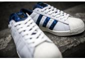 Кроссовки Adidas Consortium X UNDFTD X Bape Superstar 80V White - Фото 3
