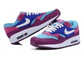 Кроссовки Nike Air Max 87 Blue/Pink/White - Фото 4
