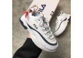 Кроссовки Folder X Fila Ray White/Black - Фото 9