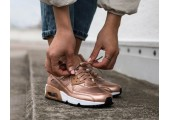 Кроссовки Nike Air Max 90 SE Leather GS Metalic Red Bronze - Фото 3