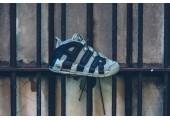 Кроссовки Nike Air More Uptempo Dark Stucco - Фото 3