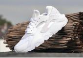 Кроссовки Nike Air Huarache Cold White - Фото 10