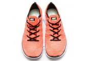 Кроссовки Nike Free Flyknit NSW Hot Lava/White - Фото 2