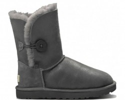 UGG BAILEY BUTTON II BOOT LEATHER SEAL