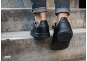 Кроссовки Adidas x Raf Simons Stan Smith Black - Фото 3