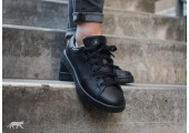 Кроссовки Adidas x Raf Simons Stan Smith Black - Фото 2