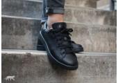 Кроссовки Adidas x Raf Simons Stan Smith Black - Фото 2