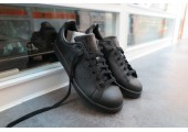 Кроссовки Adidas x Raf Simons Stan Smith Black - Фото 4