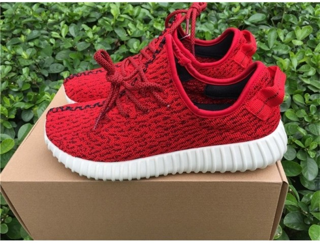 Кроссовки Adidas Yeezy 350 Boost Red October