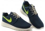 Кроссовки Nike Roshe Run Summer Dark Blue - Фото 2