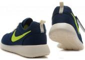 Кроссовки Nike Roshe Run Summer Dark Blue - Фото 3