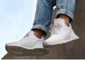 Кроссовки Adidas AF 1.4 Primeknit White - Фото 5