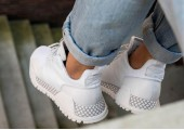 Кроссовки Adidas AF 1.4 Primeknit White - Фото 7