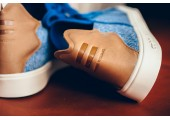 Кроссовки-кеды Pharrell Williams x Adidas Elastic Lace Blue/Cream - Фото 2
