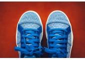 Кроссовки-кеды Pharrell Williams x Adidas Elastic Lace Blue/Cream - Фото 3