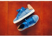 Кроссовки-кеды Pharrell Williams x Adidas Elastic Lace Blue/Cream - Фото 1