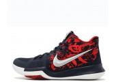 Баскетбольные кроссовки Nike Kyrie 3 Samurai Red/Black/Multi - Фото 1