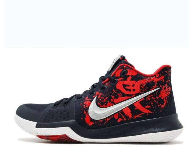 Баскетбольные кроссовки Nike Kyrie 3 Samurai Red/Black/Multi
