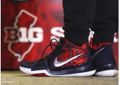 Баскетбольные кроссовки Nike Kyrie 3 Samurai Red/Black/Multi - Фото 2