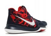 Баскетбольные кроссовки Nike Kyrie 3 Samurai Red/Black/Multi - Фото 4