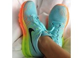 Кроссовки Nike Air Max Flyknit Mint - Фото 7