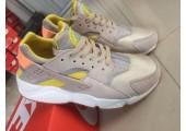 Кроссовки Nike Air Huarache Cream/Yellow - Фото 2