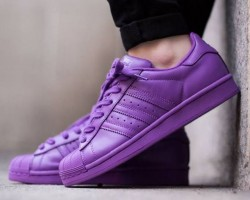 Кроссовки Adidas Superstar Supercolor Purple