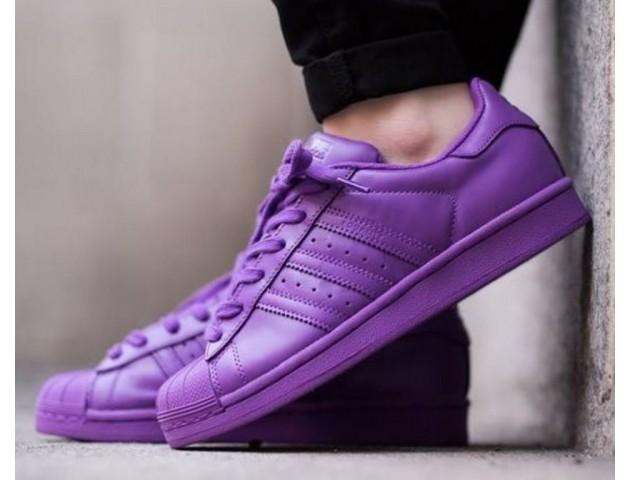Кроссовки Adidas Superstar Supercolor Purple