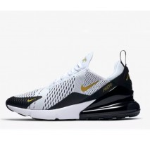 Кроссовки Nike Air Max 270 White/Black/Metallic Gold