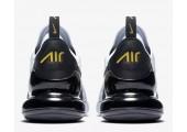 Кроссовки Nike Air Max 270 White/Black/Metallic Gold - Фото 2
