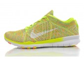 Кроссовки Nike Free TR Fit Flyknit Yellow-Green - Фото 6