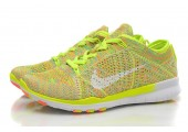 Кроссовки Nike Free TR Fit Flyknit Yellow-Green - Фото 8