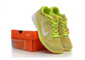 Кроссовки Nike Free TR Fit Flyknit Yellow-Green - Фото 5