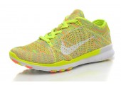Кроссовки Nike Free TR Fit Flyknit Yellow-Green - Фото 7