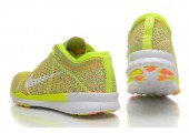 Кроссовки Nike Free TR Fit Flyknit Yellow-Green - Фото 4
