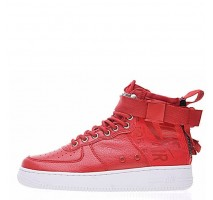Кроссовки Nike SF Air Force 1 Utility Mid Red/White