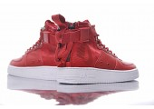 Кроссовки Nike SF Air Force 1 Utility Mid Red/White - Фото 5