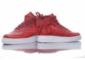 Кроссовки Nike SF Air Force 1 Utility Mid Red/White - Фото 10