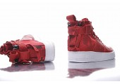 Кроссовки Nike SF Air Force 1 Utility Mid Red/White - Фото 8